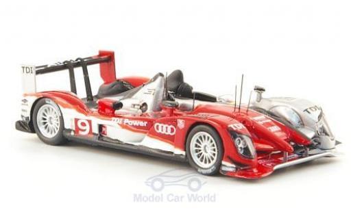 Audi R15 1/87 Spark TDI + No.9 Sport Nordamerika 24h Le Mans 2010 T.Bernhard/R.Dumas/M.Rockenfeller miniature