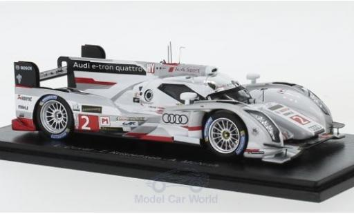 Audi R18 1/43 Spark e-tron quattro No.2 24h Le Mans 2013 L.Duval/T.Kristensen/A.McNish miniature