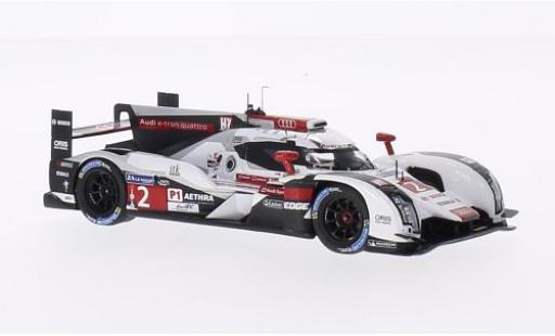 Audi R18 1/43 Spark e-tron quattro No.2 Sport Team Joest 24h Le Mans 2014 A.Lotterer/M.Fässler/B.Treluyer modellautos