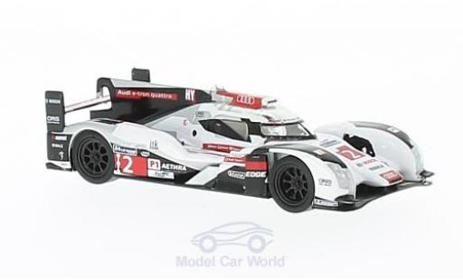 Audi R18 1/64 Spark No.2 24h Le Mans 2014 A.Lotterer/M.Fässler/B.Treluyer miniature