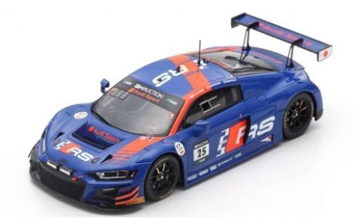 Audi R8 1/43 Spark LMS GT3 No.25 Sport Team WRT 10H Suzuka 2019 D.Vanthoor/K.van le Linde/F.Vervisch miniature