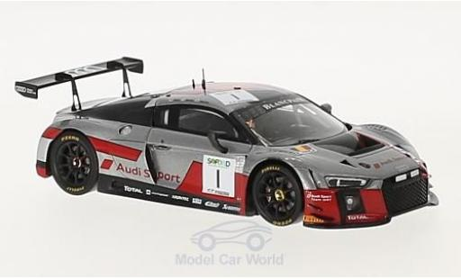 Audi R8 1/43 Spark LMS No.1 Sport Team WRT 24h Spa 2017 A.Garcia/N.Müller/R.Rast miniature