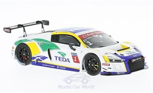 Audi R8 1/43 Spark LMS No.1 Macau GT Cup 2016 A.Yoong modellino in miniatura