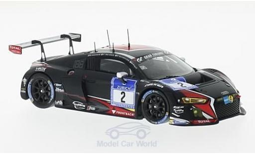 Audi R8 1/43 Spark LMS No.2 Team WRT 24h Nürburgring 2016 S.Leonard/R.Frijns/E.Sandström/F.Vervisch modellino in miniatura