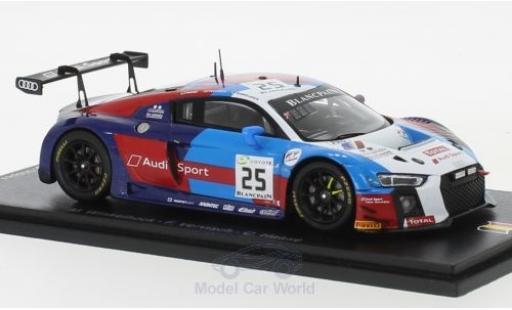 Audi R8 1/43 Spark LMS No.25 Sainteloc Racing 24h Spa 2018 M.Winkelhock/F.Vervisch/C.Haase miniature