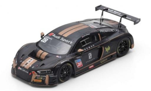 Audi R8 1/43 Spark LMS No.28 ProMax Team LMS Cup 2018 A.Haryanto diecast model cars