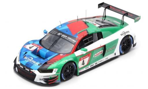 Audi R8 1/18 Spark LMS No.4 Sport Team Phoenix 24h Nürburgring 2019 P.Kaffer/F.Stippler/F.Vervisch/D.Vanthoor coche miniatura
