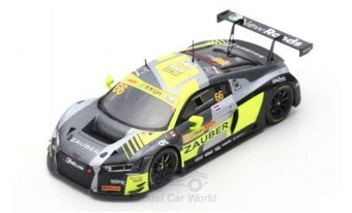 Audi R8 1/43 Spark LMS No.66 Sport Team WRT Speedstar Fia GT World Cup Macau 2018 R.Frijns diecast model cars