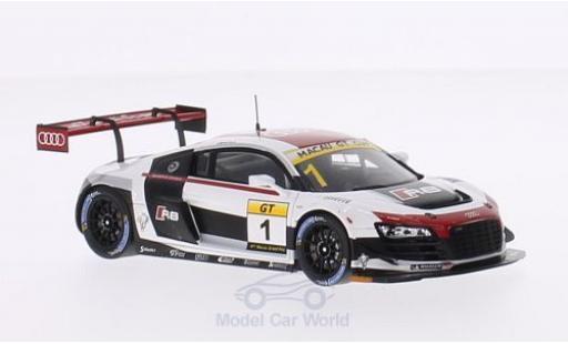 Audi R8 1/43 Spark LMS Ultra No.1 GT Cup GP Macau 2014 E.Mortara miniature