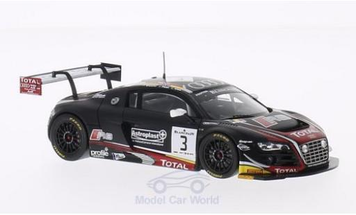 Audi R8 1/43 Spark LMS Ultra No.3 Belgian Club Team WRT 24h Spa 2014 C.Mies/F.Stippler/J.Nash miniature