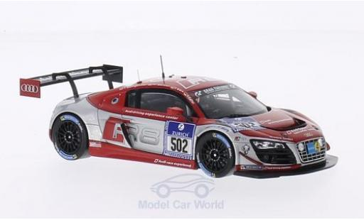 Audi R8 1/43 Spark LMS Ultra No.502 Race Experience 24h Nürburgring 2014 F.Baumgartner/M.Werner/F.Biela/P.Kaffer diecast