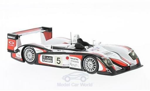 Audi R8 1/43 Spark No.5 Team GOH 24h Le Mans 2004 S.Ara/R.Capello/T.Kristensen modellino in miniatura