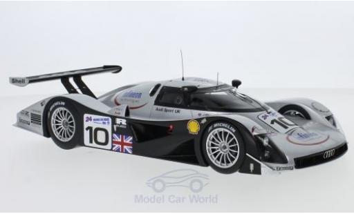 Audi R8 1/18 Spark C No.10 Infineon 24h Le Mans 1999 A.Wallace/J.Weaver/P.McCarthy miniatura