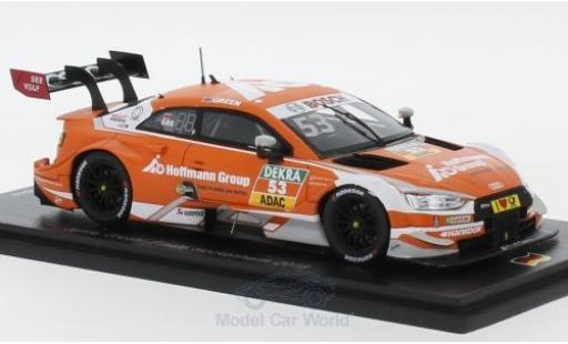 Audi RS5 DTM 1/43 Spark RS 5 No.53 Sport Team Rosberg Hoffmann Group Hockenheim 2018 J.Green miniature
