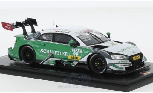 Audi RS5 1/43 Spark RS 5 DTM No.99 Sport Team Phoenix DTM Hockenheim 2018 M.Rockenfeller miniature