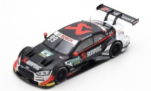 Audi RS5 1/43 Spark RS 5 No.99 Sport Team Phoenix Akrapovic DTM 2019 M.Rockenfeller modellino in miniatura