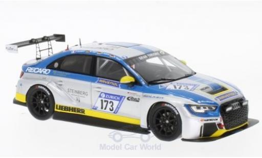 Audi RS3 1/43 Spark LMS DSG No.173 LMS Engineering 24h Nürburgring 2017 U.Andree/M.Jäger/M.Wasel/P.Humbert miniature