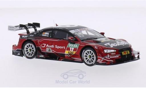 Audi RS5 DTM 1/43 Spark No.17 Sport Team Abt Sportsline Teufel 2015 M.Molina diecast model cars