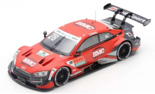 Audi RS5 1/43 Spark DTM No.28 Sport Team Phoenix Super GT x DTM DreamRace Fuji 2019 L.Duval miniature