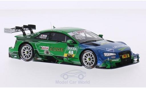 Audi RS5 DTM 1/43 Spark No.48 Sport Team Abt Sportsline ARAL ultimate / Castrol EDGE 2015 E.Mortara miniature