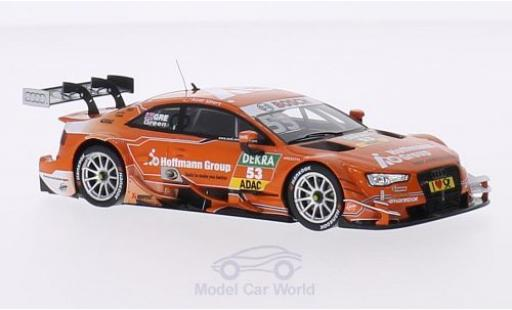 Audi RS5 DTM 1/43 Spark DTM No.53 Sport Team Rosberg Hoffmann Group DTM J.Green miniature