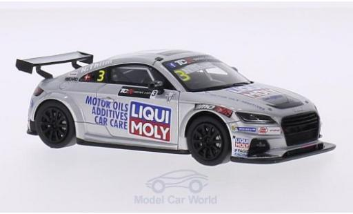 Audi TT 1/43 Spark No.3 MoTec Liqui Moly TCR International Series 2015 N.Thiim miniature