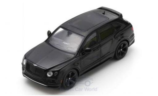 Bentley Bentayga 1/43 Spark Black Specification noire 2019 miniature