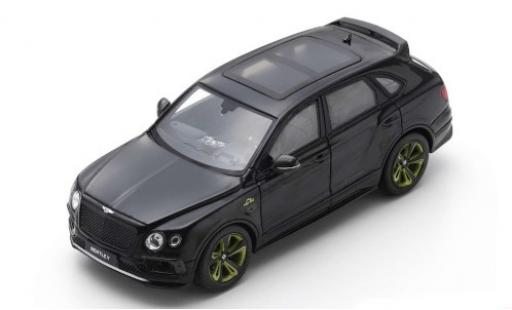 Bentley Bentayga 1/43 Spark Pikes Peak Limited Edition by Mulliner noire 2018 miniature