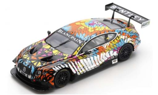 Bentley Continental 1/43 Spark GT3 Princess Yatchs Dazzle Livery