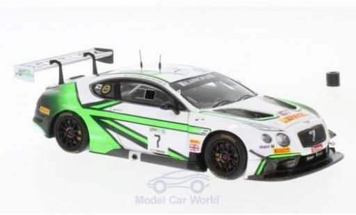 Bentley Continental T 1/43 Spark GT3 RHD No.7 Team M-Sport 24h Spa 2017 G.Smith/O.Jarvis/S.Kane modellautos
