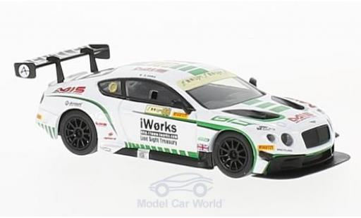 Bentley Continental 1/64 Spark GT3 RHD No.88 Team Absolute GP Macau 2015 K.Sawa modellautos