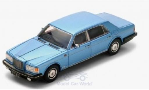 Bentley Mulsanne 1/43 Spark metallise bleue RHD 1980 miniature