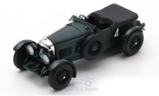 Bentley Speed 6 1/43 Spark Speed Six RHD No.4 24h Le Mans 1930 W.Barnato/G.Kidston miniature