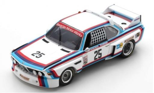 Bmw 3.0 1/43 Spark CSL No.25 Motorsport 12h Sebring 1975 B.Redman/A.Moffat/S.Posey/H-J.Stuck diecast model cars