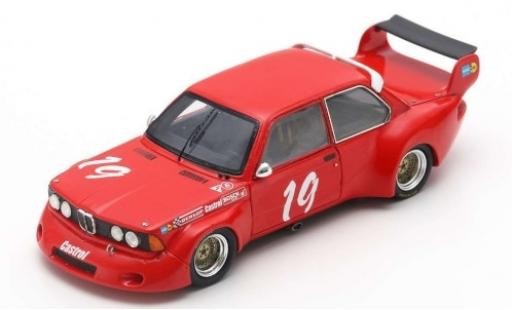 Bmw 320 1/43 Spark (E21) No.19 DRM Mainz-Finthen 1977 K-H.Becker miniature