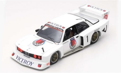 Bmw 320 1/18 Spark Gr.5 No.1 Macau Guia Race 1981 M.Winkelhock diecast model cars