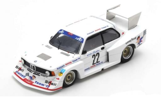 Bmw 320 1/43 Spark Gr.5 No.22 DRM Norisring 1977 D.Quester diecast model cars