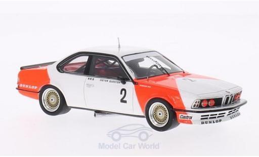 Bmw 635 CSI 1/43 Spark No.2 Marlboro Guia Race Macau Grand Prix 1983 D.Quester miniature