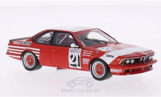 Bmw 635 1/43 Spark (E24) CSi No.21 Belgium Bastos 24h Spa 1983 Decals liegen bei T.Tassin/A.Hahne/H.Heyer miniature