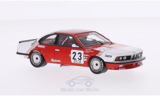 Bmw 635 1/43 Spark BMW (E24) CSi No.23 Team Belga Belga 24h Spa 1985 inklusive Decals M.Winkelhock/H.Regoud/J.Gartner miniature