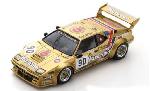 Bmw M1 1/43 Spark No.90 Team Warsteiner Warsteiner 24h Le Mans 1983 A.Pallavicini/J.Winther/L.von Baviera miniature