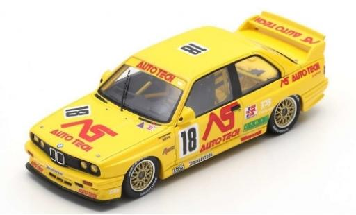 Bmw M3 1/43 Spark (E30) Evo No.18 Macau Guia Race 1991 R.Ratzenberger diecast model cars