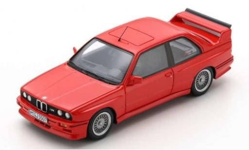Bmw M3 1/43 Spark (E30) Sport Evolution red 1990 diecast model cars