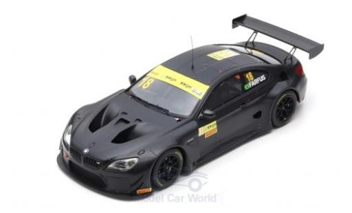 Bmw M6 1/18 Spark GT3 No.18 Team Schnitzer Fia GT World Cup Macau 2017 A.Farfus miniature