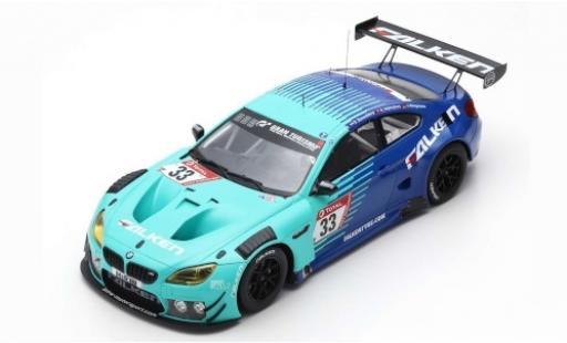 Bmw M6 1/18 Spark GT3 No.33 Falken Motorsports Falken 24h Nürburgring 2019 P.Dumbreck/S.Dusseldorp/A.Imperatori/J.Klingmann diecast model cars