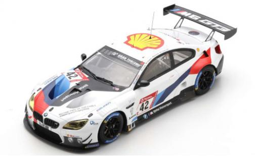 Bmw M6 1/43 Spark GT3 No.42 Team Schnitzer 24h Nürburgring 2020 A.Farfus/J.Klingmann/M.Tomczyk/S.van le Linde diecast model cars