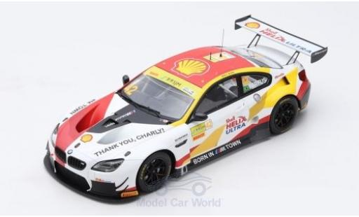 Bmw M6 1/18 Spark GT3 No.42 Team Schnitzer S Helix Fia GT World Cup Macau 2018 A.Farfus diecast model cars