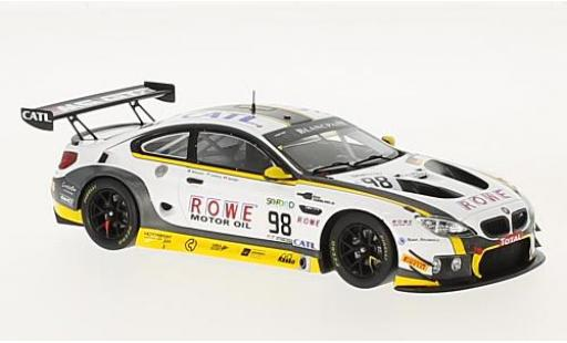 Bmw M6 1/43 Spark GT3 No.98 Rowe Racing 24h Spa 2017 T.Blomqvist/N.Catsburg/B.Spengler diecast model cars