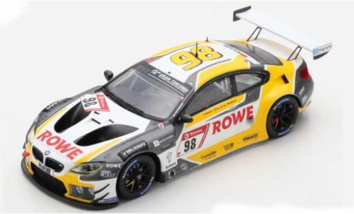 Bmw M6 1/43 Spark GT3 No.98 Rowe Racing ROWE 24h Nürburgring 2020 M.Wittmann/T.Blomqvist/P.Eng diecast model cars