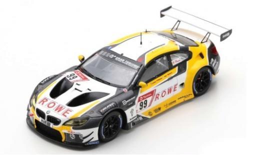 Bmw M6 1/43 Spark GT3 No.99 ROWE Racing 24h Nürburgring 2019 N.Catsburg/M.Wittmann/J.Krohn/J.Edwards diecast model cars